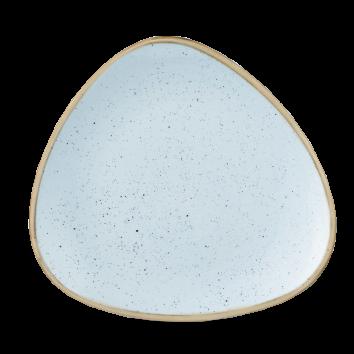 Piatto Triangolare Stonecast Azzurro 26,5 cm