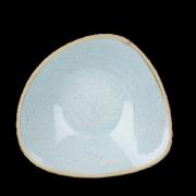 Piatto Fondo Triangolare Stonecast Azzurro 18,5 cm