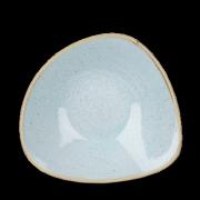 Piatto Fondo Triangolare Stonecast Azzurro 23,5 cm