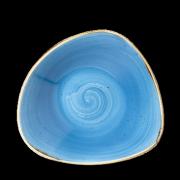 Piatto fondo triangolare Blu Stonecast 23,5 cm