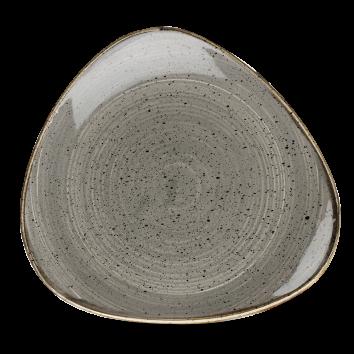 Piatto Triangolare Stonecast Grigio 26,5 cm