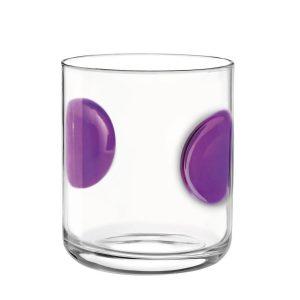 Bicchiere Acqua Giove Viola