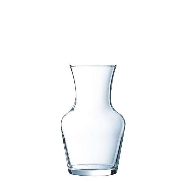 Caraffa 25 cl Carafon per vino Arcoroc GMA serigrafia logo su vetro