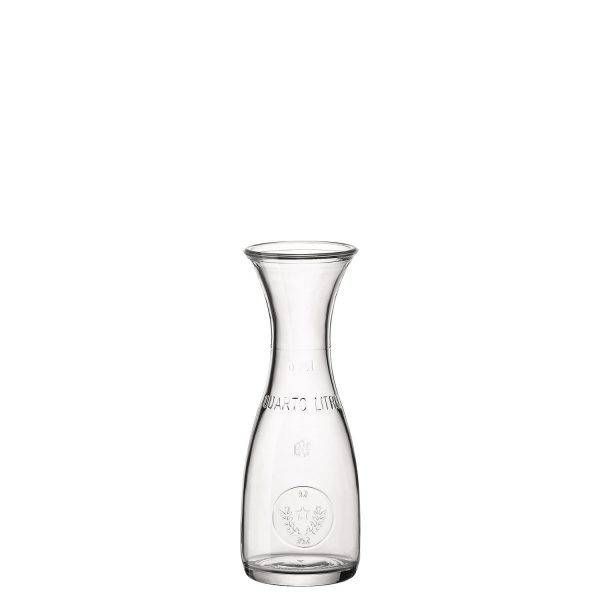 Caraffa Misura 0,25 lt Bormioli Rocco  GMA serigrafia su vetro