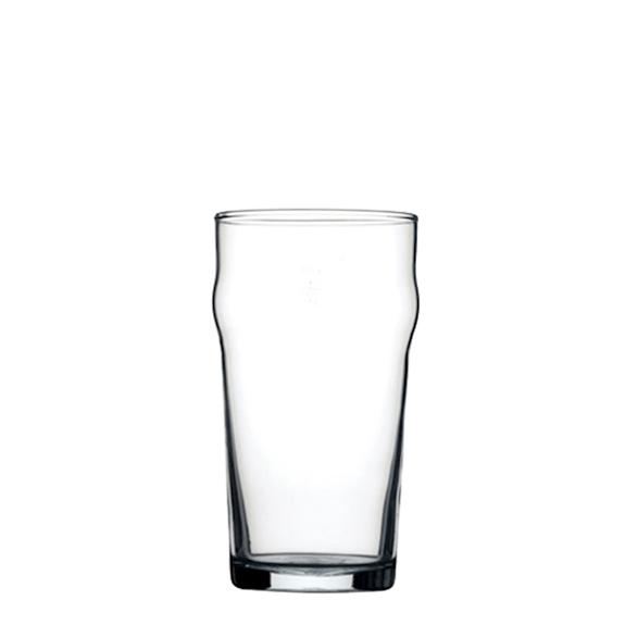 Bicchiere Birra 28 cl Nonic Arcoroc GMA serigrafia logo su vetro