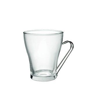 Tazza Oslo Cappuccino 23.5 cl Bormioli Rocco GMA serigrafia vetro