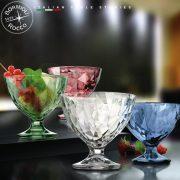Coppa Diamond azzurra - Bormioli Rocco