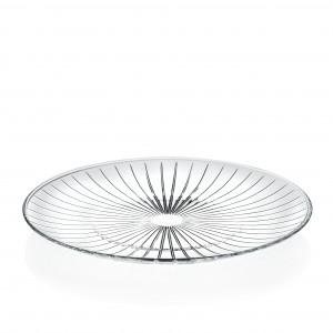 Piatto Piano 26 cm Sunbeam RCR vetro personalizzato GMA