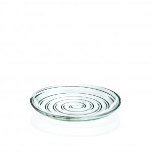 Piatto Dolce 18 cm D'O Oldani RCR vetro GMA Serigrafia