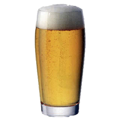 Bicchiere birra Biconico 53,5 cl GMA serigrafia su vetro