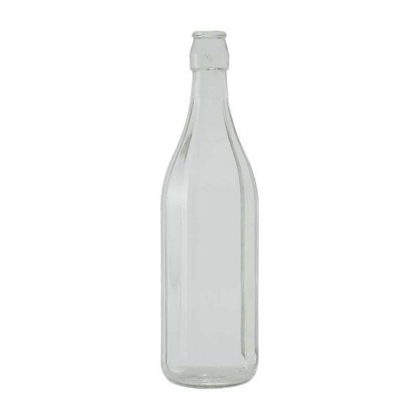 Bottiglia Costolata 100 cl per acqua e bevande GMA