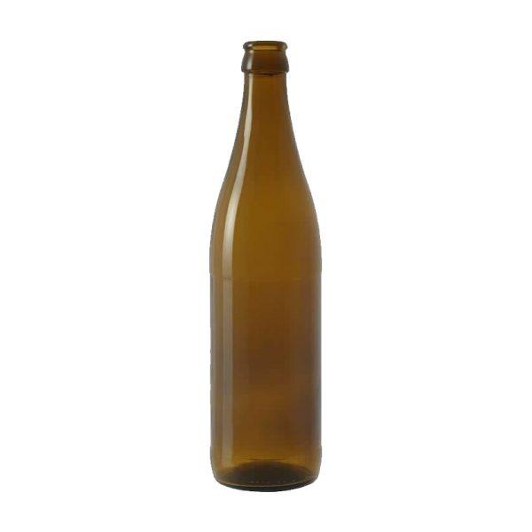 Bottiglia NRW 50 cl marrone in vetro per birra