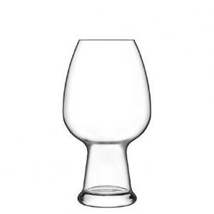 Bicchiere Birrateque Wheat Weiss 78 cl Luigi Bormioli GMA serigrafia su vetro