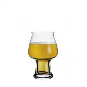 Bicchiere Birrateque Cider 50 cl Luigi Bormioli GMA serigrafia logo su vetro