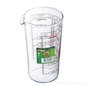 Bicchiere Dosatore Graduato lt.0,5