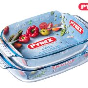 Tegame Rettangolare Pyrex