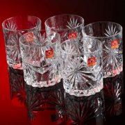 Bicchiere Oasis 32 cl RCR GMA serigrafia su vetro