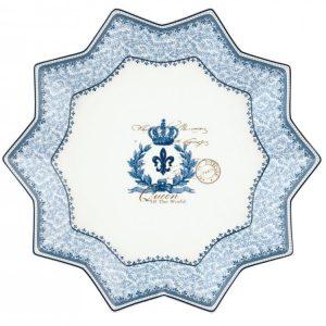 Piatto Stella 32 cm Blue Dream