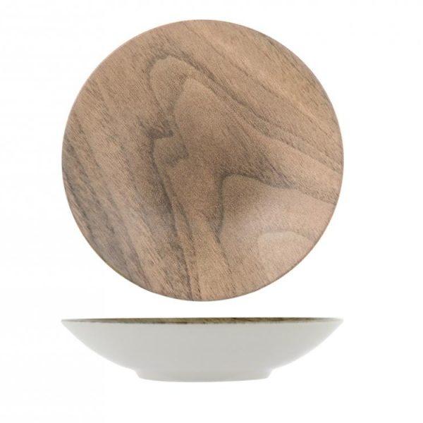 Piatto Fondo Wood
