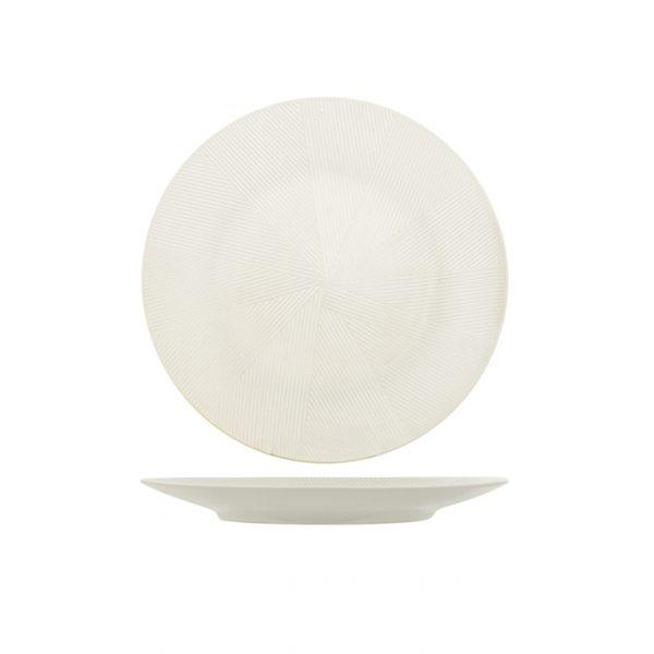 Piatto da Portata Bianco Comb 31 cm H&H GMA personalizzazione vetro