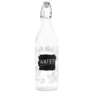 Bottiglia decorazione Lavagna 1 lt in vetro GMA
