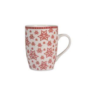 Mug 35 cl Tazza Grace Rosso H&H idee regalo natale originali gma