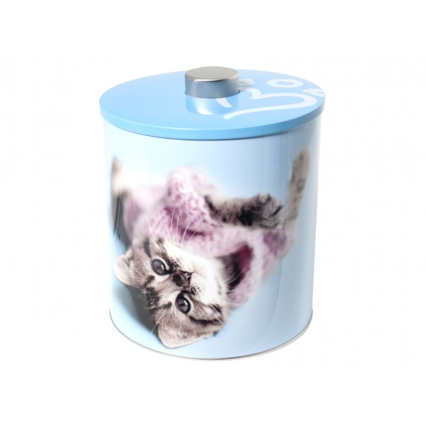 biscottiere latta decorazione cats2