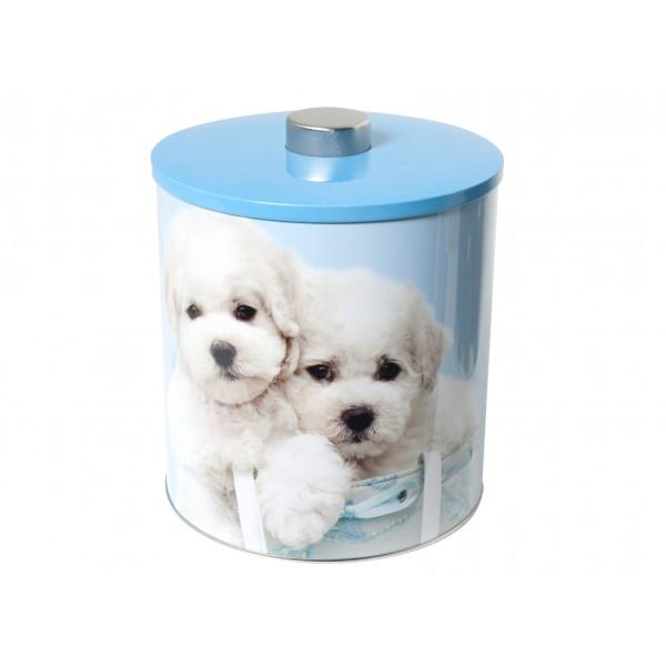 biscottiere latta decorazione dogs2