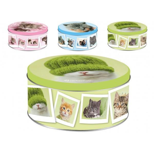 Scatola Tonda Cats