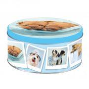 scatole latta tonde decorazione dogs2