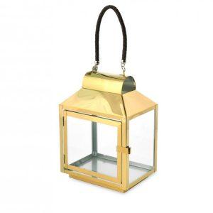 Lanterna Oro 20x14xH28 cm