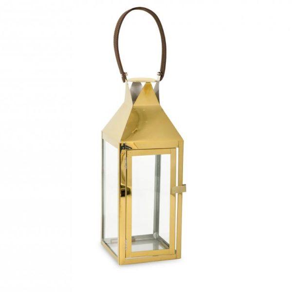 Lanterna Oro 14x15xH38 cm