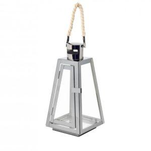 Lanterna Titanio 13xH26 cm
