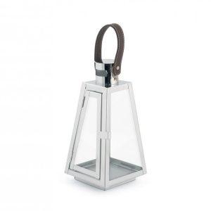 Lanterna Silver 13xH26 cm