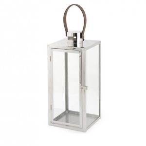Lanterna Titanio 17x18xH44 cm