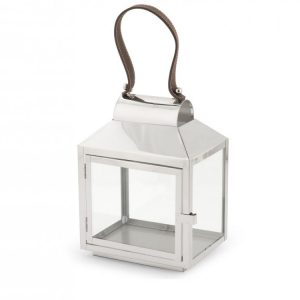 Lanterna Silver 20x14xH28 cm