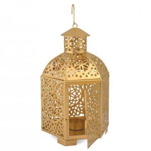 Lanterna Atelier Oro 14x29 cm