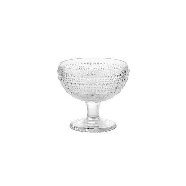 Coppa Gelato Trasparente Diamante GMA serigrafia logo su vetro