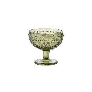 Coppa Gelato Verde Diamante GMA serigrafia su vetro personalizzazioni