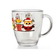 Tazza Natale con Gufi 38 cl GMA serigrafia Verona