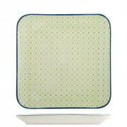 Piatto Verde 20×20 Full Decoration