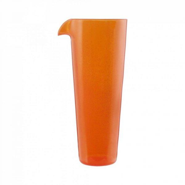 Caraffa Arancio Orange Jug 1 L Memento Synth per catering e buffet  GMA serigrafia