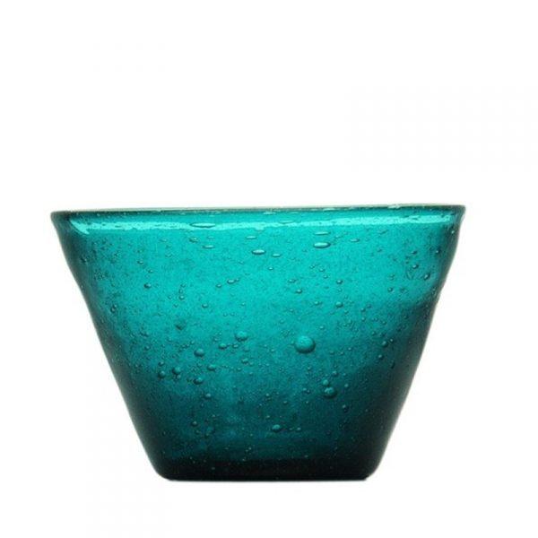Small Bowl Petrol Memento Originale GMA personalizzazione vetro