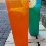 Caraffa Arancio Orange Jug 1 L Memento Synth per buffet e catering GMA serigrafia