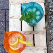 Caraffa Arancio Orange Jug 1 L Memento Synth per buffet e aperitivi GMA serigrafia