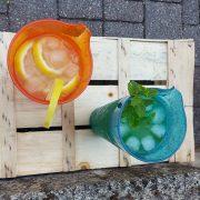 Caraffa Arancio Orange Jug 1 L Memento Synth per catering e aperitivi GMA serigrafia