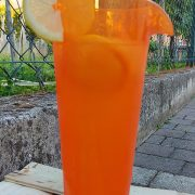 Caraffa Arancio Orange Jug 1 L Memento Synth per catering e buffet GMA serigrafia