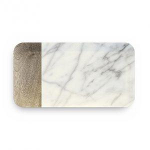 Vassoio Grande Carrara in melamina 38x19 Touch Mel GMA serigrafia