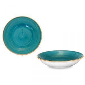 Piatto Fondo Brush Tiffany 20 cm Le Nouvea Coq GMA serigrafia piatti e vetro
