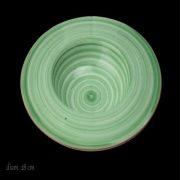 Piatto Pasta Gaudt Verde 28 cm